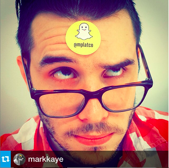 """Having worked with big brands like CBS and Walt Disney to develop Snapchat-specific social media campaigns,Michael Platco is a Snapchat-made """"marketing expert."""" Snapchat:@mplatco"""