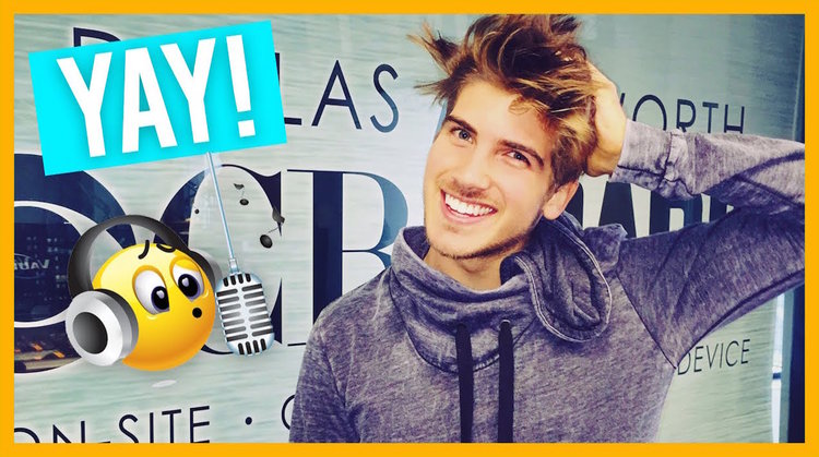 With more than 5 million subscribers,Joey Graceffa is a prolific YouTuber who has successfully expanded his social media comedic prowess onto Snapchat.@JoeyGraceffa16