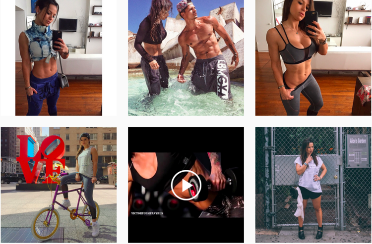 "Instagram pictures of Brazilian fitness model/influencer Alice Matos who has 1.2m followers The majority of social media influencers in Brazil are models, actresses and fitness trainers. If you compare the ""beauty"" content created by Brazilian influencers to that of American influencers, you can see that where Americans aim to create magazine-style editorial content, Brazilian influencers model their looks with photos of themselves and selfies. For instance, the Instagram pictures of Marianna Hewitt look like professionally-edited fashion shoots that take careful consideration of lighting, background and spatial dimensions. However Bruna Unzueta's photos, a Brazilian beauty blogger with similar follower counts, are more like the kind of simple, less polished selfies anyone might take casually."