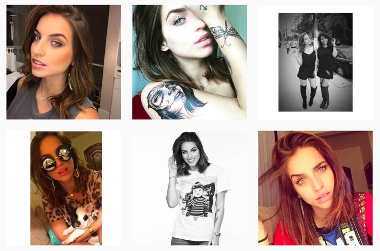 Brazilian beauty blogger Bruna Unzueta