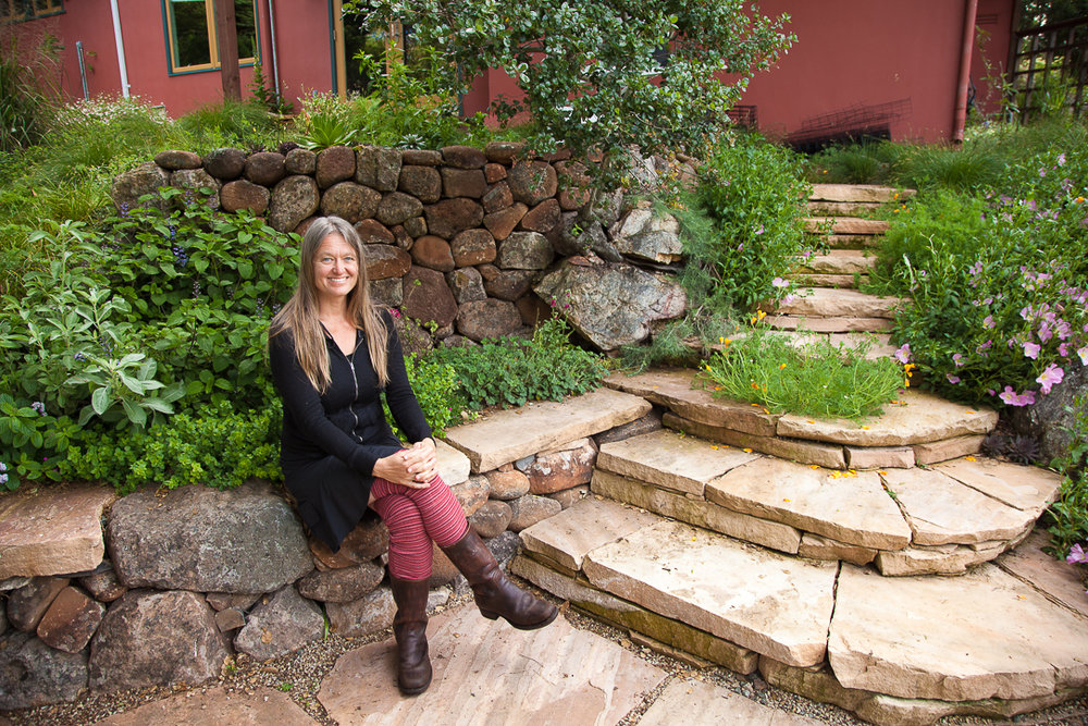 Award winning Mariposa Gardens wanted to showcase their latest gardens, meadow designs and stonework utilizing drought resistant, indigenous plants and landscaping to maximize water efficiency.
