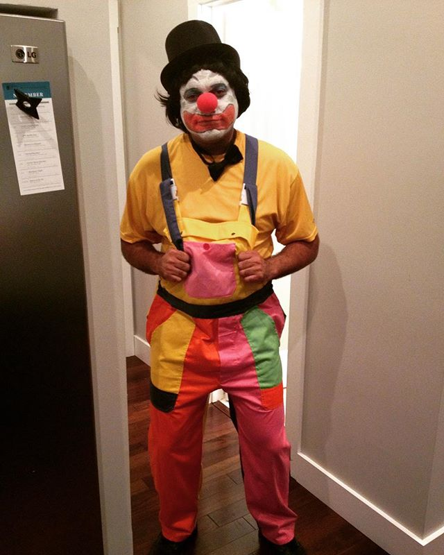 What am I some kind of clown to you?