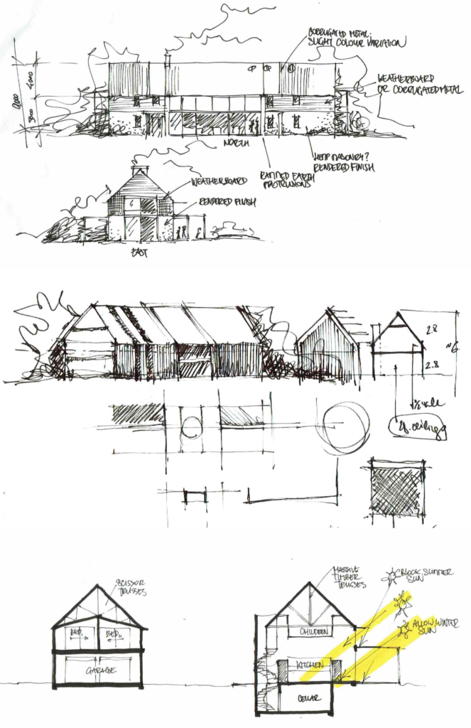 Barn House Concept, Hunter Valley