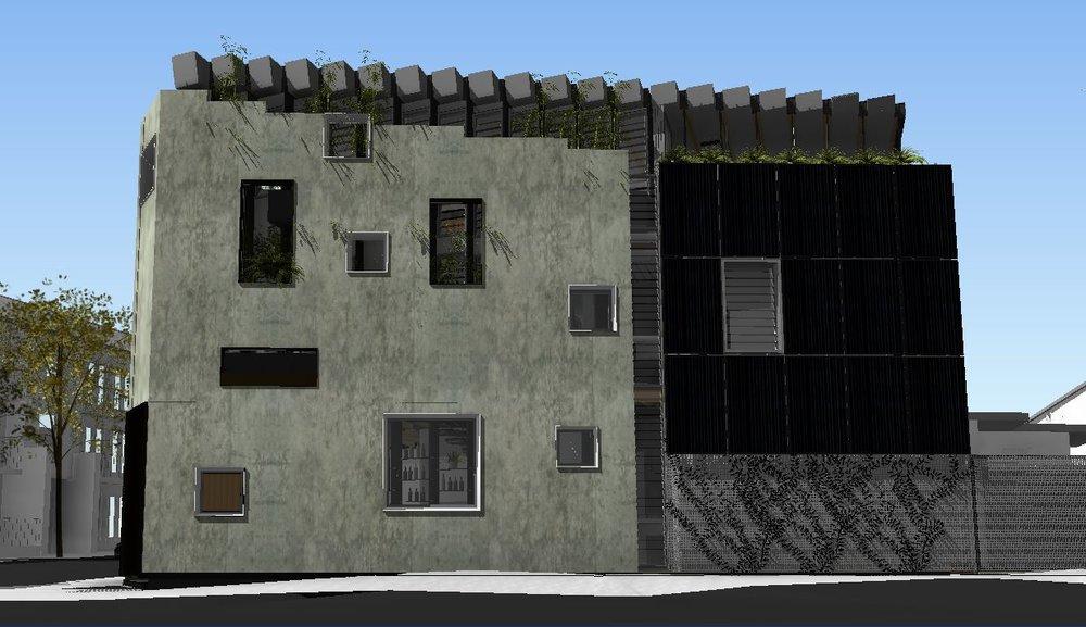 Ivy St Residence Render