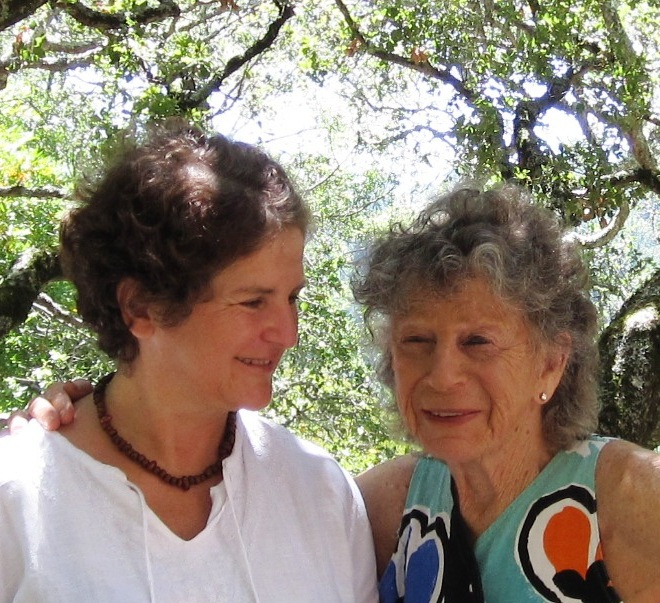 Rena with Anna Halprin