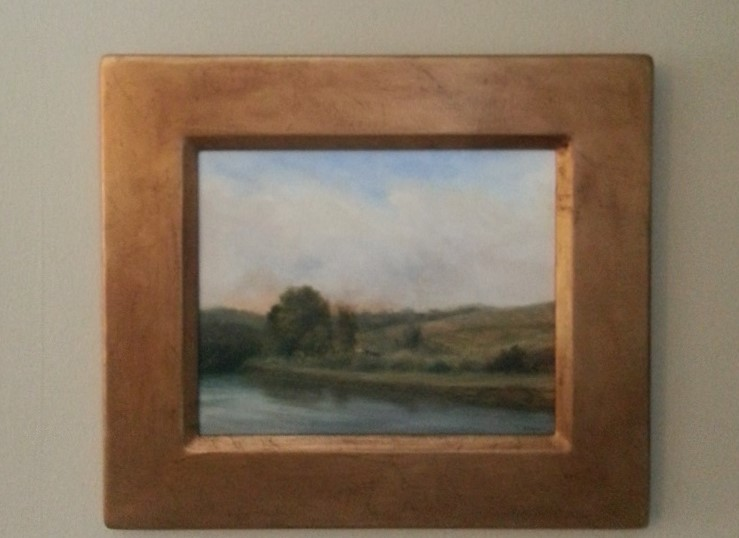"""Tranquil View"" 12.5""x 14.5"" in frame."