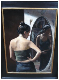 """""""Lucie in the Mirror"""" by Toby Wright"""