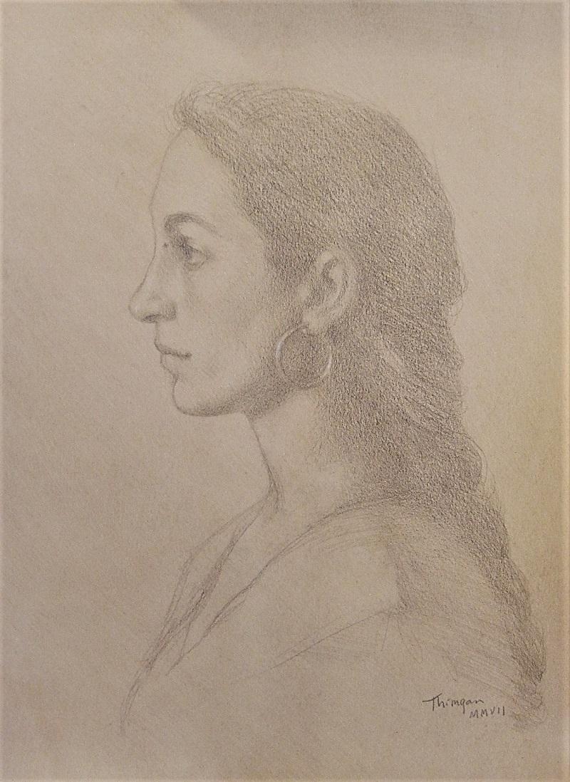 """""""Lucie in Profilo"""" by Thimgan Hayden"""