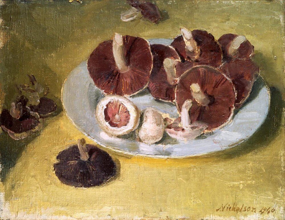 """Mushrooms"" by Sir William Nicholson"