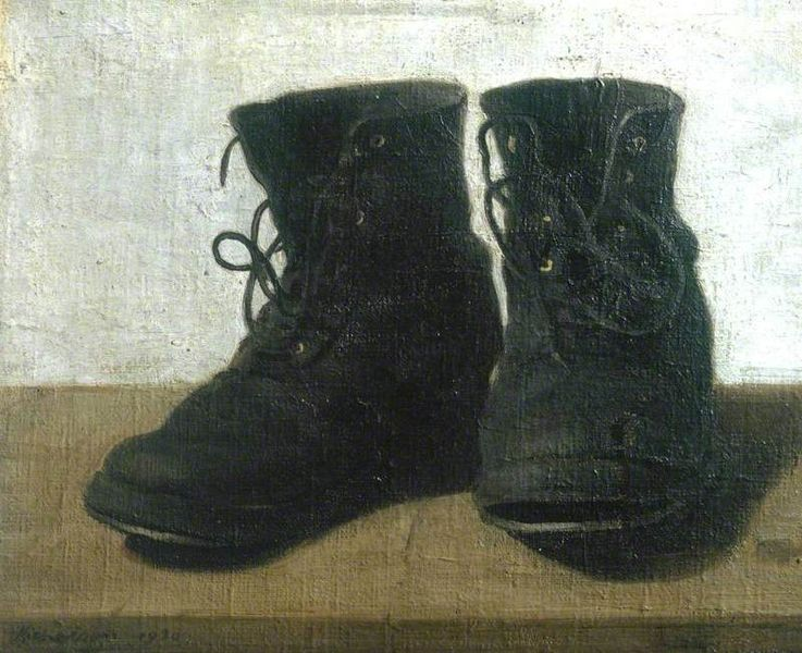 """Miss Jekyll's Boots"" by Sir William Nicholson"