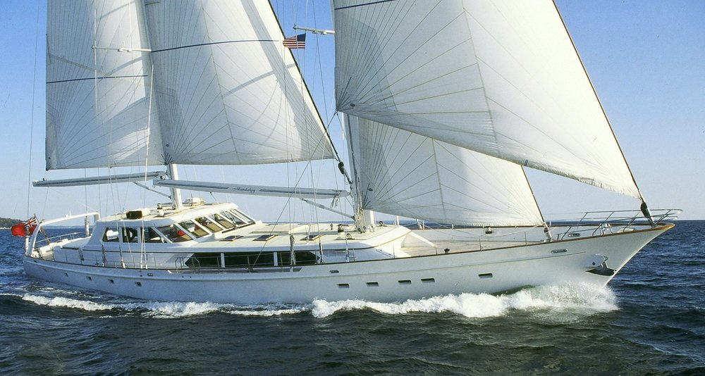 Mandalay  under sail in 1994