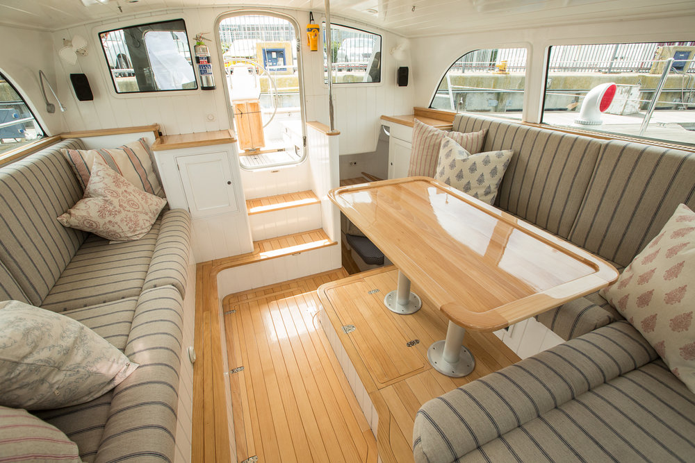 Pilothouse looking aft