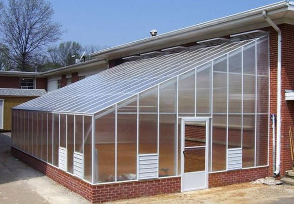 Greenhouse lined to the main house option