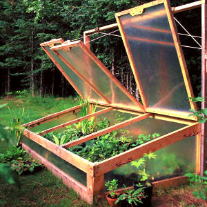 Cold frame design