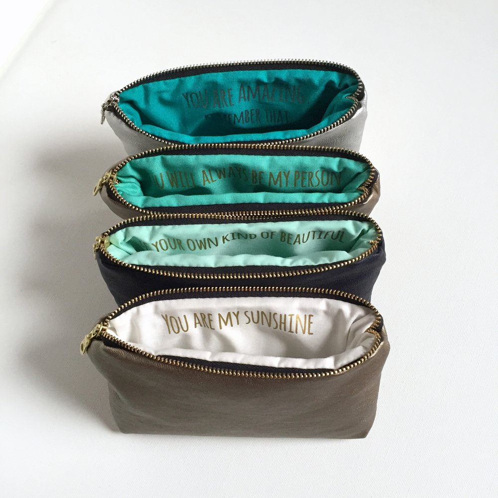 Four Bridesmaid Bags