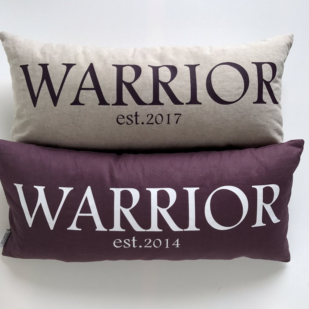 Warrior Pillows