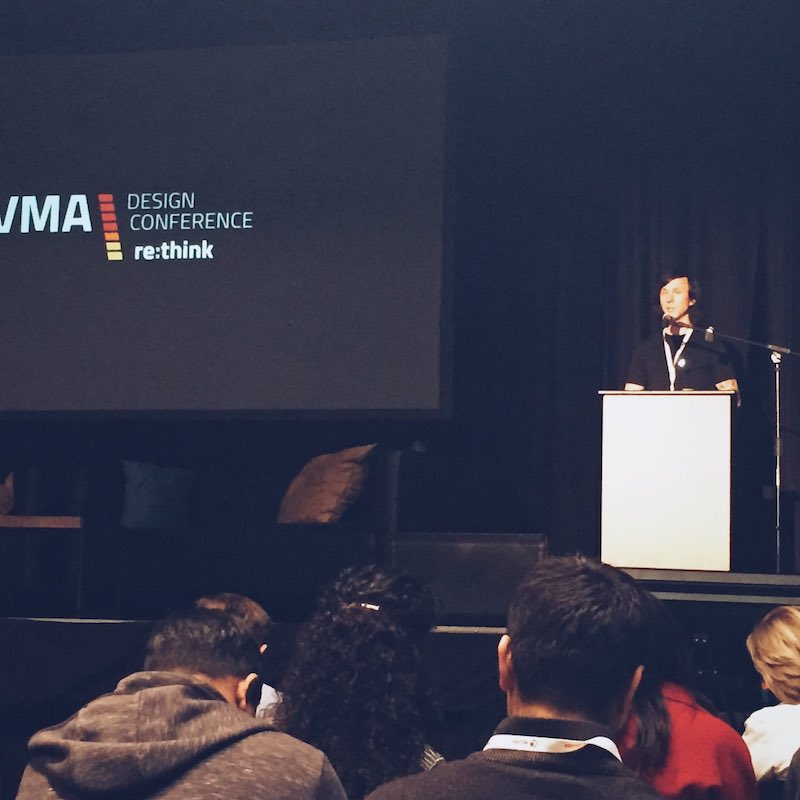 Speaking at the 2016 VMA Design Conference in San Francisco