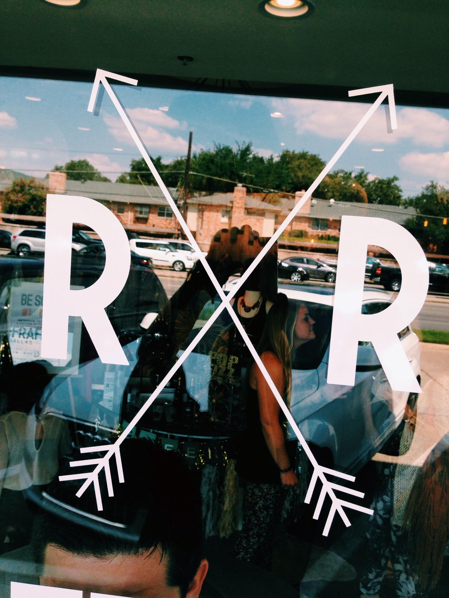 Riffraff Dallas Window Clings