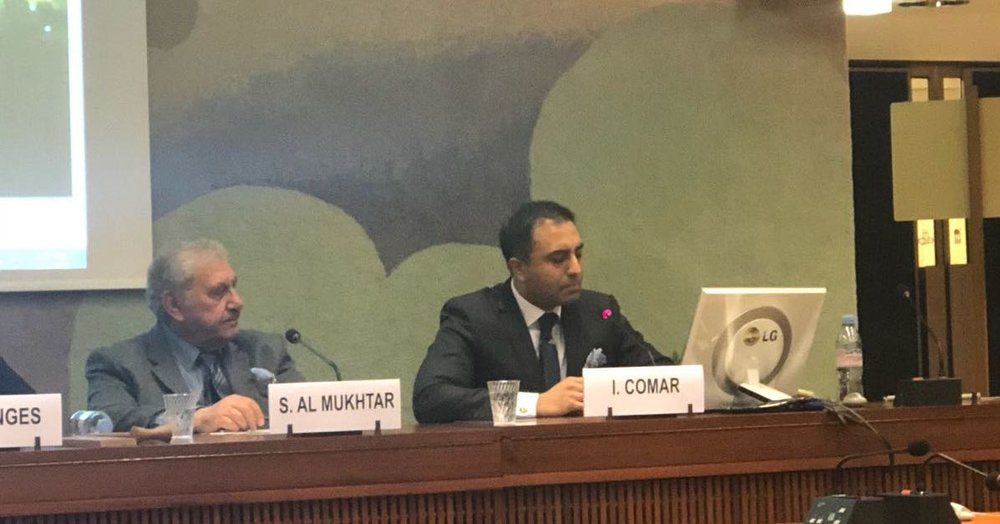 The following statement was given by Inder Comar at a side event of the United Nations Human Rights Council in Geneva, Switzerland, on March 15, 2018. The speech discusses the 15th anniversary of the Iraq War, and the failure of the international community to hold U.S. and U.K. leaders accountable for that war.