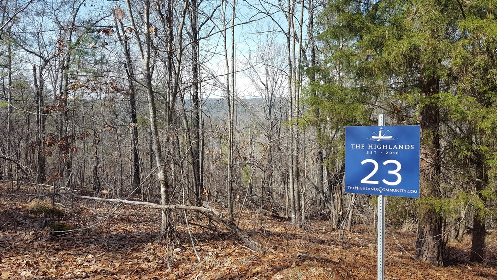 Homesite #23   List Price: $475,000     Size: 9.13 acres  Section: Pelham  Street: Two Mountain Parkway