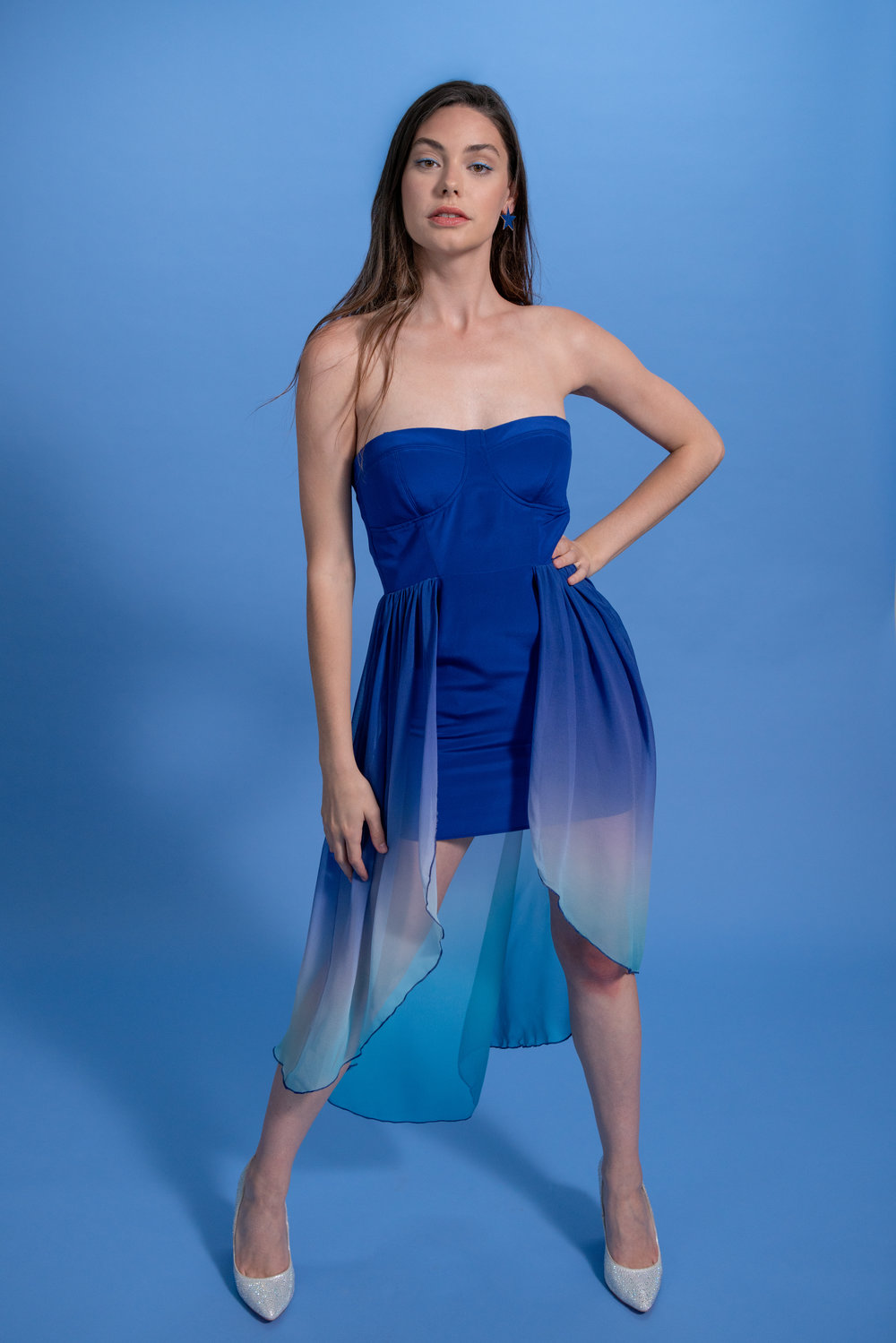 2019 year for lady- Blue Ocean dress pictures
