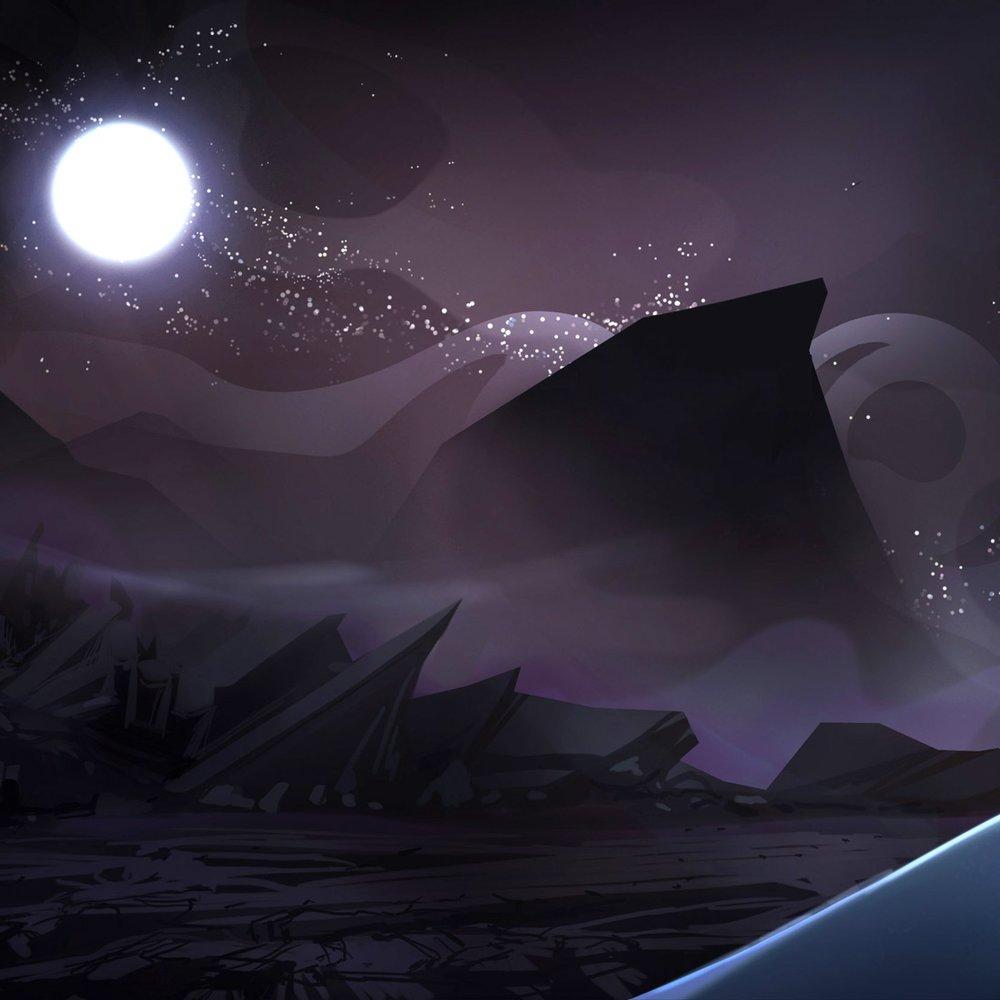 Valley of salt - The Desert of Fortunes.