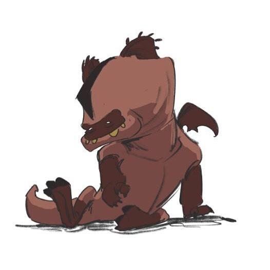 A mischievous house pet. . . . #webcomic #bible #bookofmormon #conceptart #graphicnovel #comic #comics #illustration #drawing #instacool #anthro #lds #mormon #michaelmercerart #mikescrazyideas #fromthedust #animal