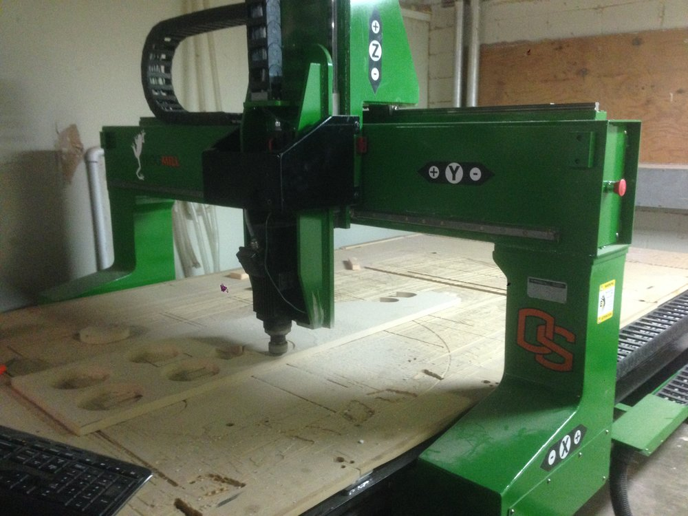 Frogmill - Retrofitted by CNC Experts