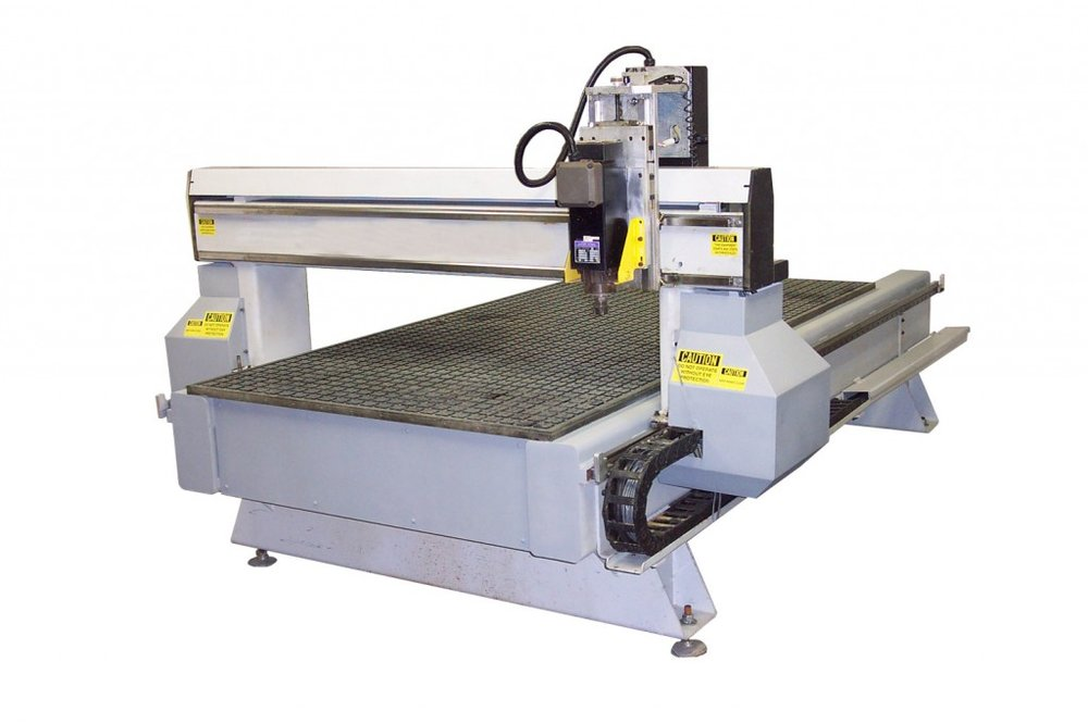 A MultiCam cnc router that was retrofitted by CNC Experts.