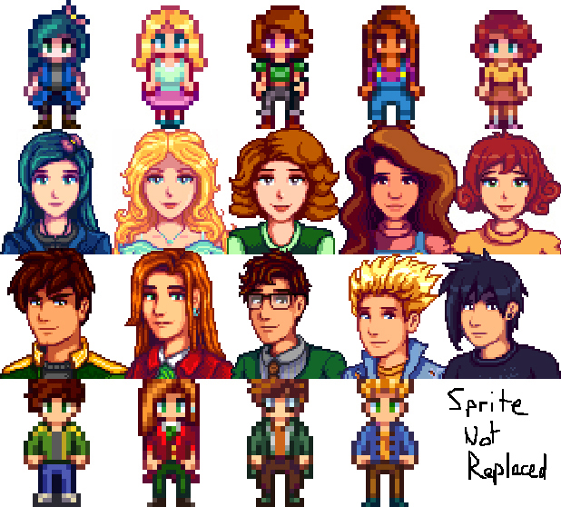 I saw every sprite and portrait change happen.