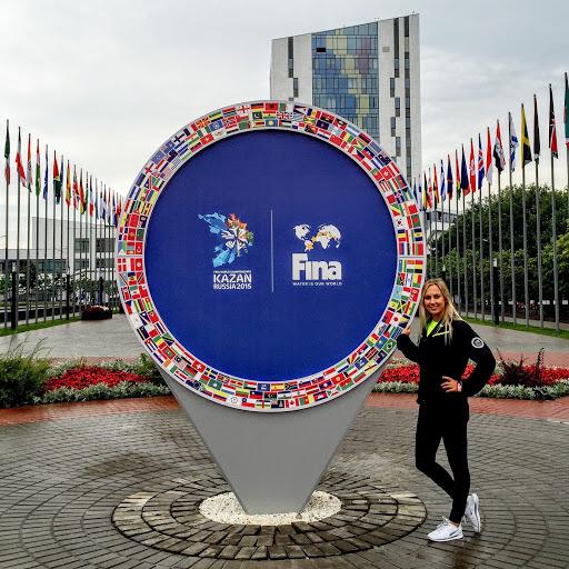 - 2015 FINA World Championships in Kazan, Russia