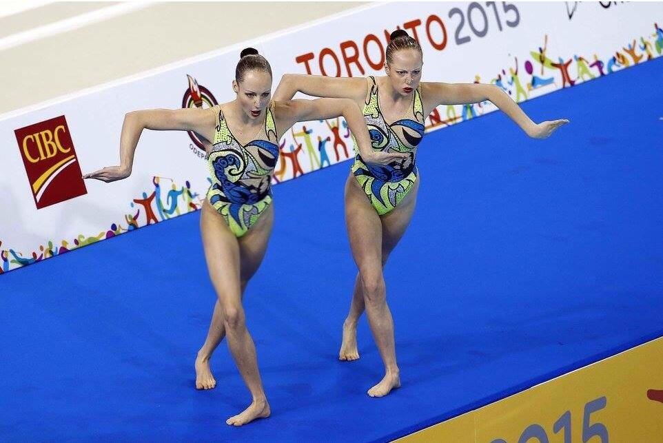 Karine and Jackie at the 2015 Pan American Games