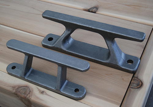 DOCK BUILDERS CLEATS - -These dock builders cleats come in two sizes 8