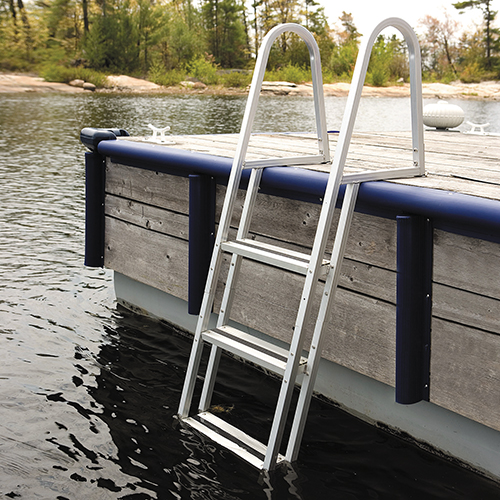 KWIK RELEASE ALUMINUM STAND-OFF - This sturdy Kwik Release ladder is manufactured from 1
