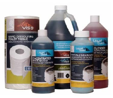 Liquid Gold™ - Keep your portable or marine toilet clean and door free with these great products.