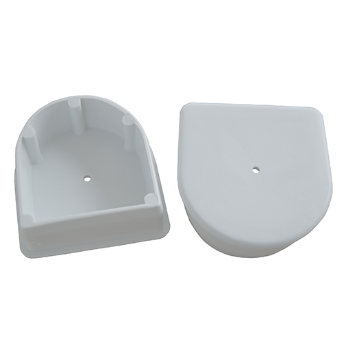 AIR CUSHION END PLUGS - Seal AIR CUSHION Profile ends. Use with DockEdge+ Connectors, Corners and PVC solvent for AIR CUSHION System.Available in white and navy blue.
