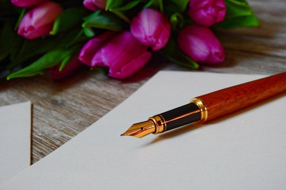 Temoignage stylo tulipe