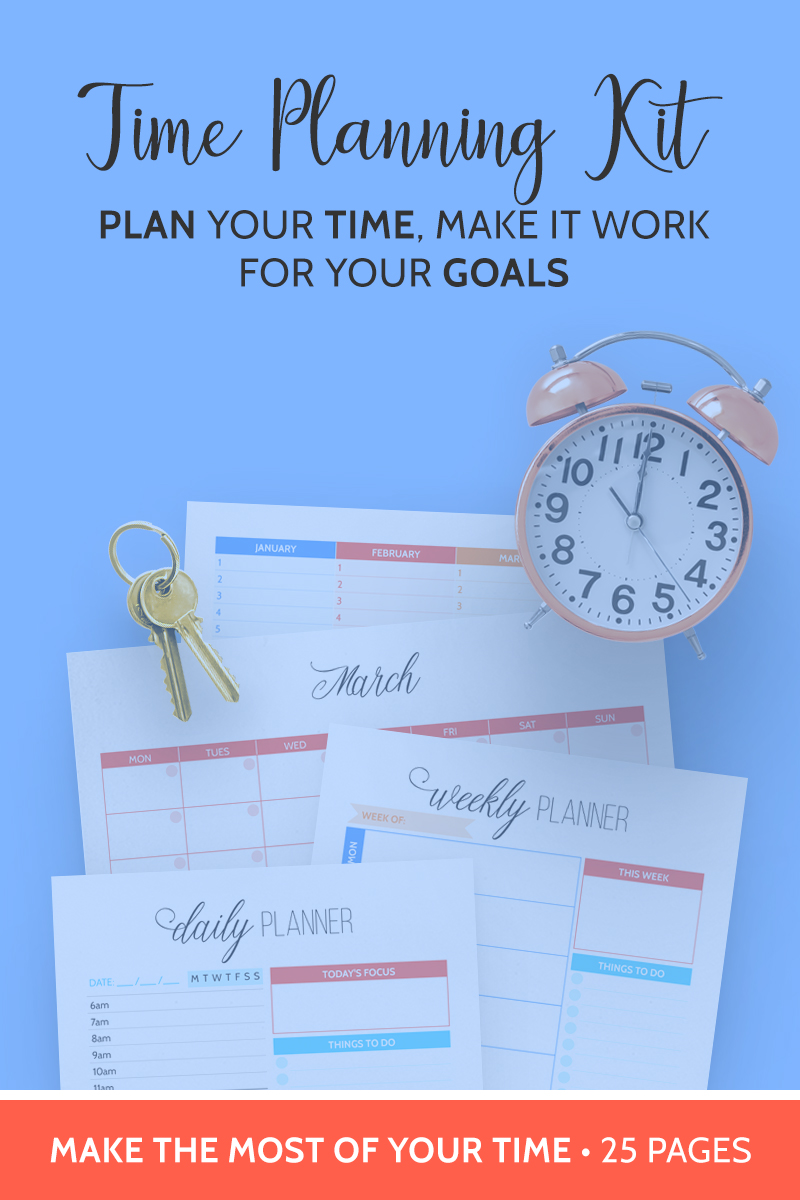 Time Planning Kit by Alicia Grace Co.