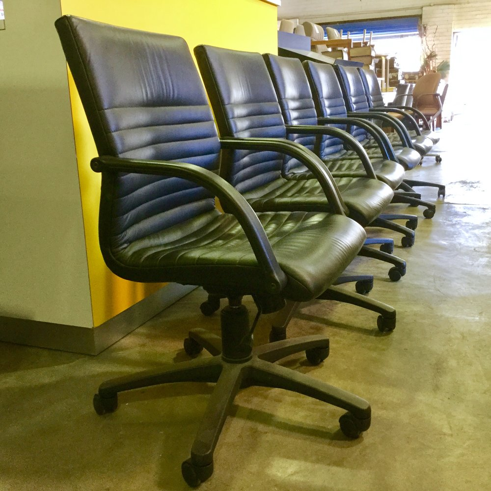 Zenith Profile Executive Leather Chairs