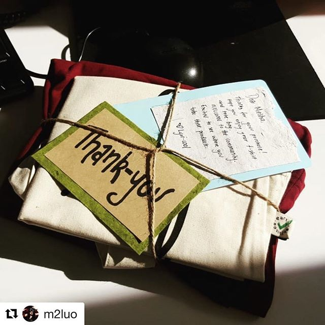 YAY! So excited that orders have started to go out and everyone can enjoy becoming part of the community. ENJOY MEISHA!  #lyricool #tshirtthatcares #sustainablefashion  #Repost @m2luo with @get_repost ・・・ What a cute package! Thanks @lyri.cool ! So excited to wear a t shirt that's not black in colour 😂  #lyricool #supportyourlocal #melbournianatheart #itwashardorderingamaroonshirt