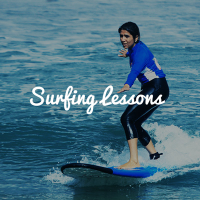 Learn to Surf on Group Trips
