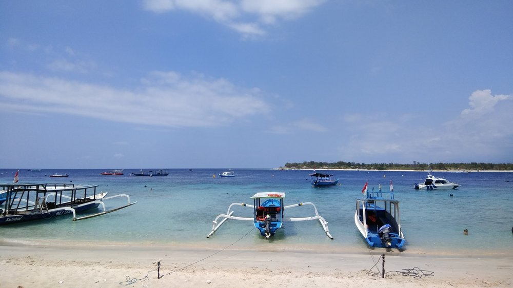 Restaurant in Gili Image during Group Trip