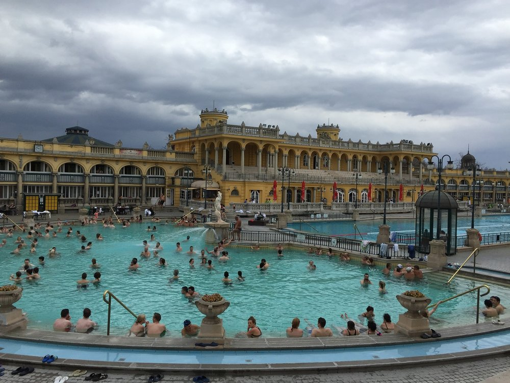 Thermal Baths in Budapest are the best hangover cure