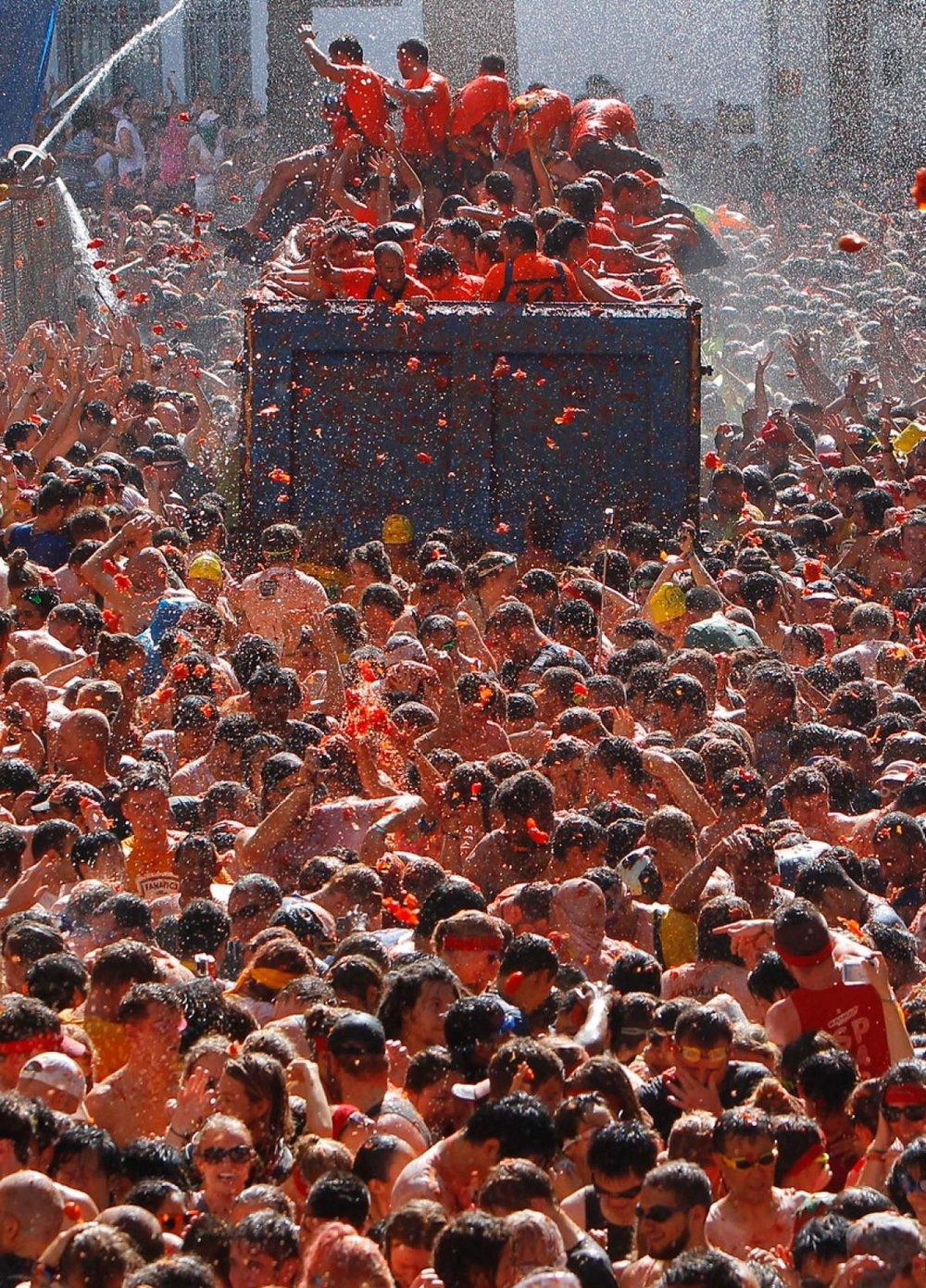 Tomatina Festival in Spain 2018