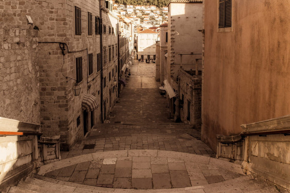 Croatia; Inside Dubrovnik's Walls and Around its Alleys
