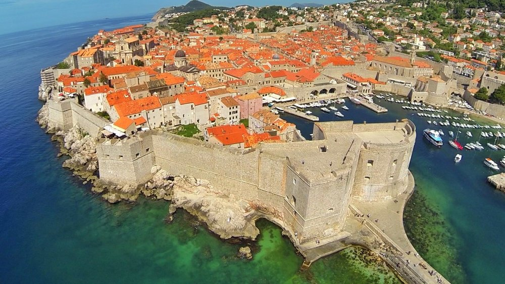 City Walls Image of Dubrovnik during Group Trip
