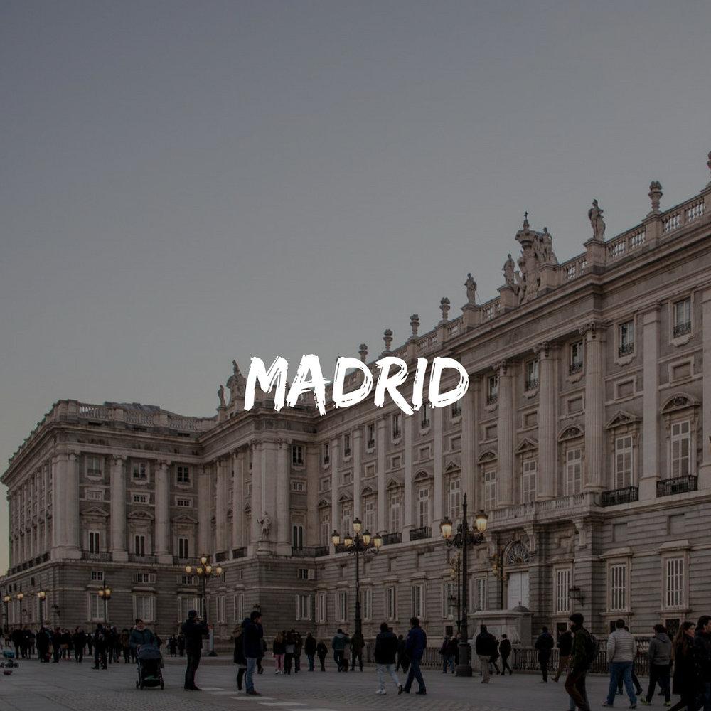 Madrid during Spain Group Trip