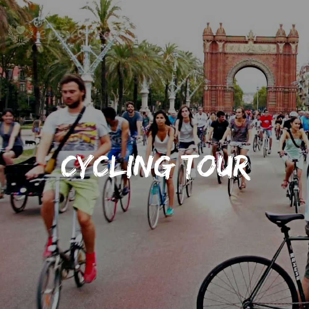 Cycling Tour during Spain Group Trip