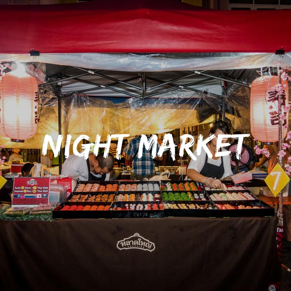 Night Markets of Thailand