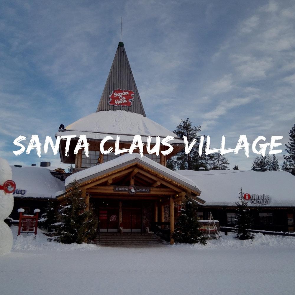Copy of Visit the Official Santa Claus Village